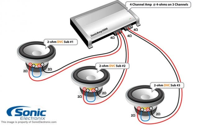 diy how to install car subwoofer with diagrams rh 10tenmag com wiring a subwoofer to old receiver wiring a subwoofer to old receiver