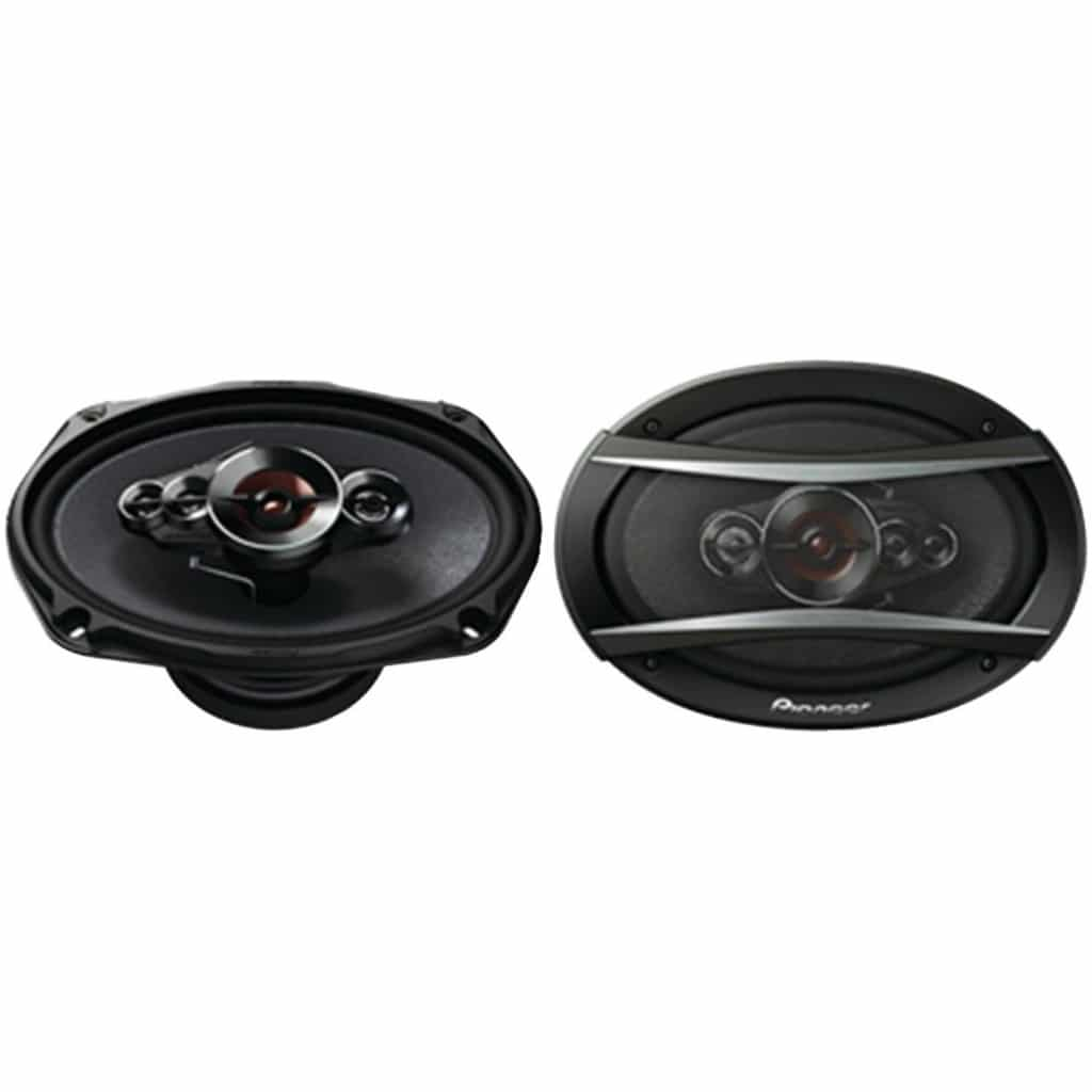 "Pioneer TS-A6996R A-Series 6"" X 9"" 650W 5-Way Speakers"