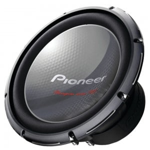 "Pioneer Ts-w3003d4 12"" 2,000-watt Champion Series pro Sub-woofer"