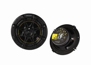 "KICKER DS65 6.5"" 200 Watt 4-Ohm 2-Way DS Series Car Audio Speakers"